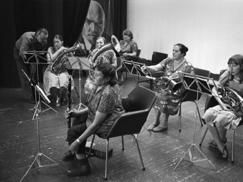 """Romualdas Požerskis, iš ciklo """"Paskutinieji namai"""", Nemencine (62). 1983 m."""