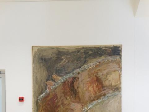 """Aistė Kirvelytė, """"Žiūri kiną"""". 1997 m. J. Lapienio nuotr."""