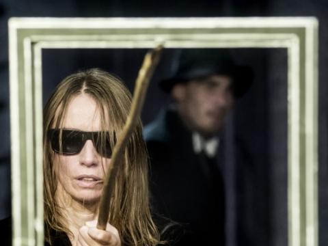 "Viktorija Kuodytė spektaklyje ""Bado meistras"". D. Matvejevo nuotr."