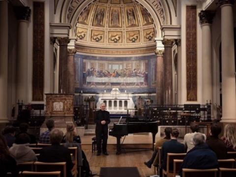Juozo Gruodžio kūrinių koncertas Baltijos muzikos festivalyje
