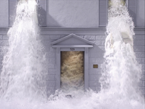 "Bill Viola, ""Potvynis"", fragmentas. 2013 m. K. Perov nuotr."
