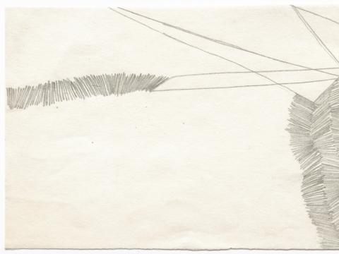 Birutė Stulgaitė, piešinys iš asmeninio archyvo