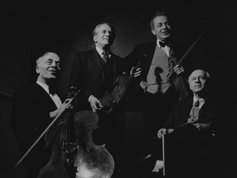 """Budapest String Quartet"". Los Andželas. 1961 m. Nuotraukos iš lee.classite.com"