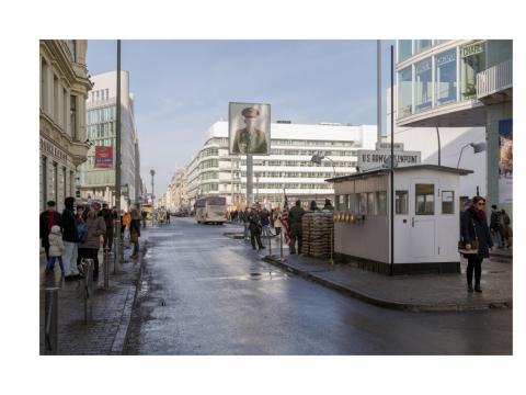 """Mikko Waltari, """"Chekpoint Charlie kontrolės punktas"""". Berlynas, Vokietija. 2014 m."""