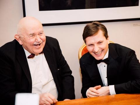 Donatas Katkus ir Modestas Barkauskas. R. Šeškaičio nuotr.