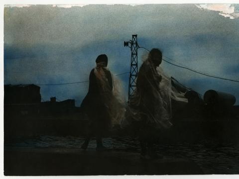 "Giedrius Liagas, ""Stiprus dangus"". 1990 m."