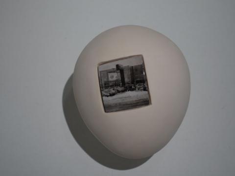 """Agnė Gecevičienė, """"Žvilgsnio projekcijos"""". 2006 m.  A. Narušytės nuotr."""