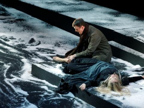 Joana Gedmintaitė (Mimi) ir Tomas Pavilionis (Rudolfas). M. Aleksos nuotr.