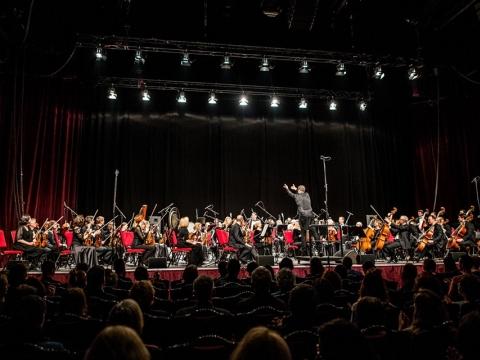 Lietuvos nacionalinio simfoninio orkestro sezono pabaigos koncertas. N. Žilinskaitės nuotr.