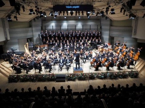 LVSO sezono pradžios koncertas. G. Bataščiuko nuotr.