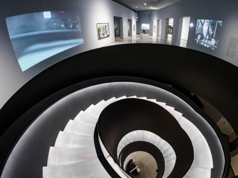 """Parodos """"Sunkus amžius"""" MO muziejuje fragmentas. R. Šeškaičio nuotr."""