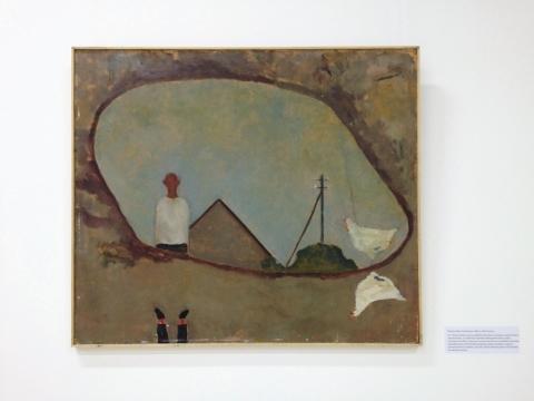 """Šarunas Sauka, """"Kompozicija"""". 1981 m. Autorės nuotr."""
