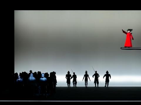 "Scena iš operos ""Turandot"". M. Aleksos nuotr."