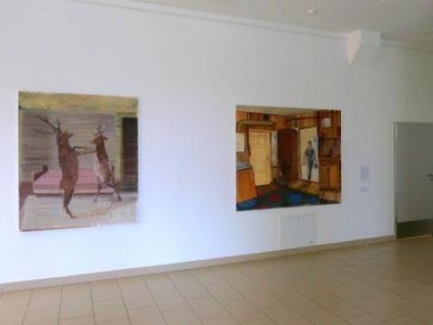 Eglė Ulčickaitė, ekspozicijos fragmentas. K. Rybačiauskaitės nuotr.