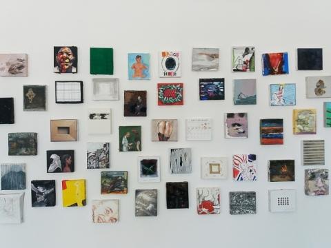 "Projekto ""10 x 12"" ekspozicija. V. Paplausko nuotr."