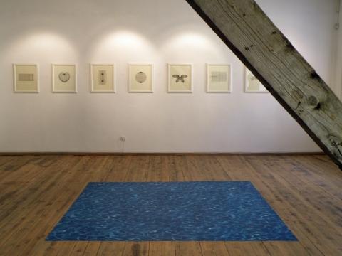 Eglės Ruibytės ekspozicijos vaizdas. 2016 m. E. Ruibytės nuotr.