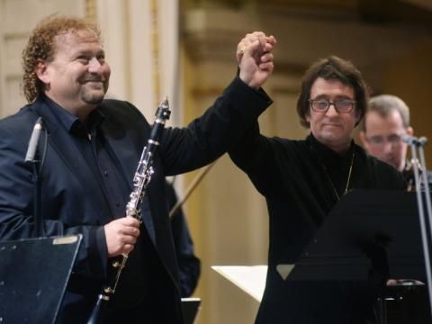 Darko Brlekas ir Jurijus Bašmetas. D. Matvejevo nuotr.