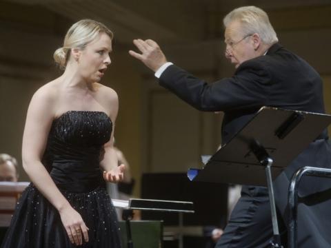 Julia Novikova ir Georg Mark. D. Matvejevo nuotr.