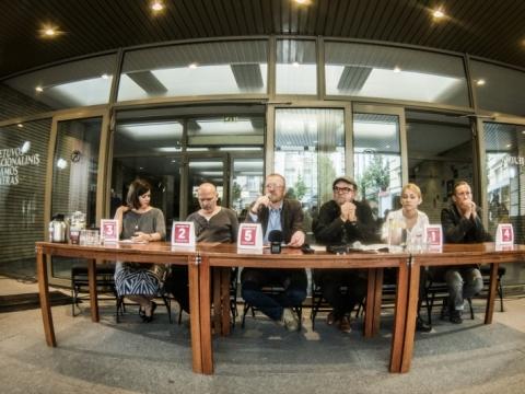 LNDT 77 sezono spaudos konferencija. D. Matvejevo nuotr.