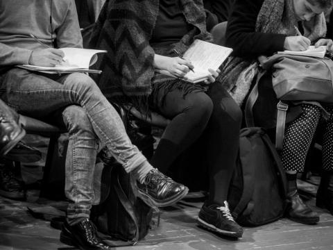 LNDT skelbia Jaunųjų kūrėjų programos konkursą. D. Matvejevo nuotr.