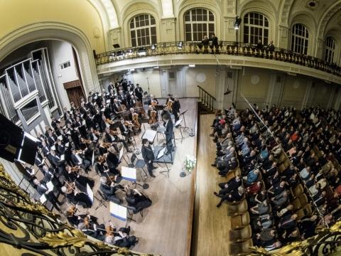"""Baltijos valstybių atkūrimo 100-mečiui skirtas koncertas """"Baltijos laisvė"""". D. Matvejevo nuotr."""