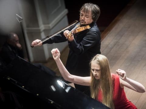 Kristina Miller ir Sergejus Krylovas. D. Matvejevo nuotr.