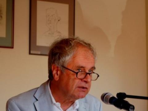 Festivalio svečias – rašytojo vaikaitis, pianistas, psichologas ir rašytojas Friddo Mannas. Nuotrauka is festivalio archyvo