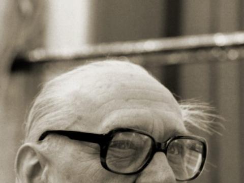 Algirdas Julius Greimas apie 1985 m.