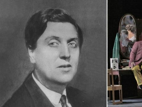 "A. Bergas ir opera ""Lulu"". ""Metropolitan opera"" nuotr."