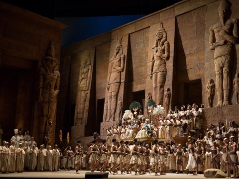 """Aida"". ""Metropolitan opera"" nuotr."
