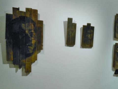 "Vytenis Tolutis. ""Monologai"". 2012 m. J. Lapienio nuotraukos"