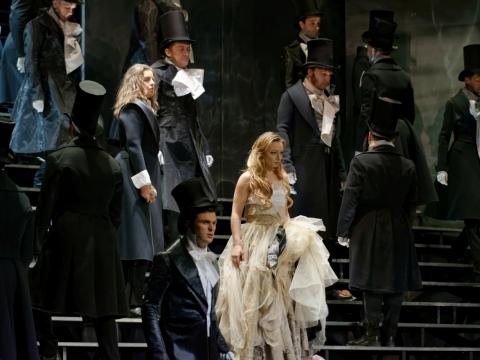 """Aistė Pilibavičiūtė (Džuljeta) V. Bellini operoje """"Kapulečiai ir Montekiai"""". M. Aleksos nuotr."""