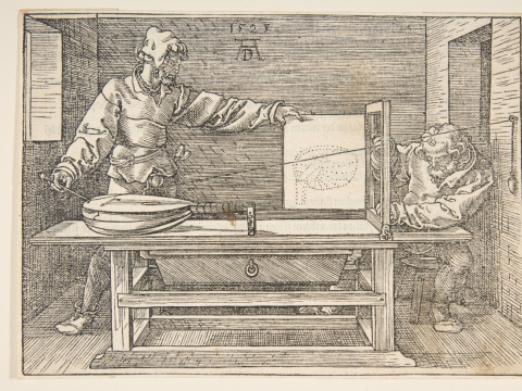 Albrecht Dürer, medžio raižinys. Metropolitan kolekcijos nuosavybė