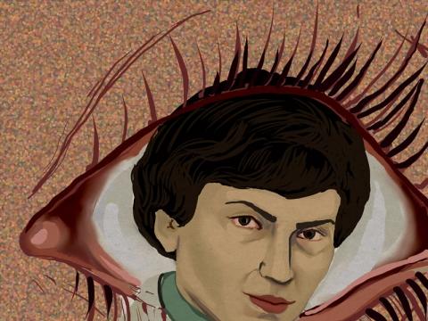Akvilė Malukienė, akių daktarė Aldona Gryžaitė-Blužienė (1929–2005). Gap.lt