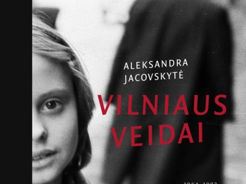"""Knygos """"Vilniaus veidai 1964–1993"""" viršelis"""