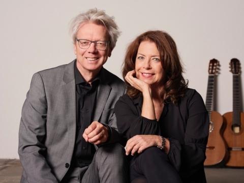 """Amadeus Guitar Duo"". B. Hickmanno nuotr."
