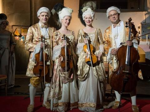 """""""Archi Quartett"""". LNOBT nuotr."""