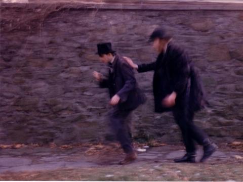 """""""Žudikai. Filmas apie poetą Rimbaud"""", 1985"""