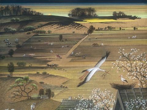 B. Leonavičiaus iliustracija 'Pavasaris'. Iš ciklo Kristijonas Donelaitis 'Metai'. .jpg