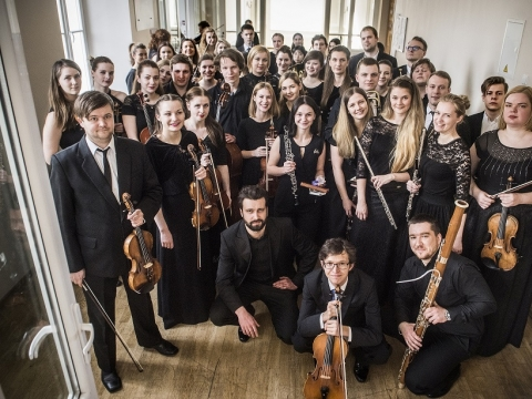 Baltijos šalių akademijų orkestras. D. Matvejevo nuotr.