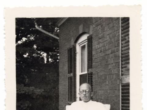 Mikalojus Vorobjovas. Nuotrauka iš JAV periodo