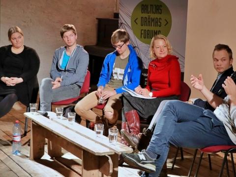 Baltijos dramos forumas (Latvija, 2017). Organizatorių nuotr.