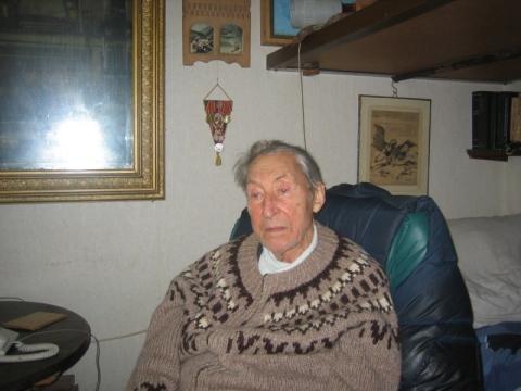Gerardas Binkis. D. Šabasevičienės nuotr.