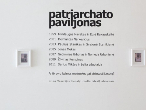 """Cooltūristės. """"Užimk Venecijos Bienalę!"""" 2012 m."""