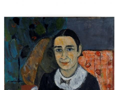 """Černė Percikovi�iūtė. """"Draugė Judita"""". Apie 1937 m. Iš Nacionalinio M.K. Čiurlionio dailės muziejaus archyvo"""
