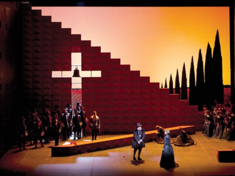 """Don Karlas"". ""Metropolitan opera"" nuotr."