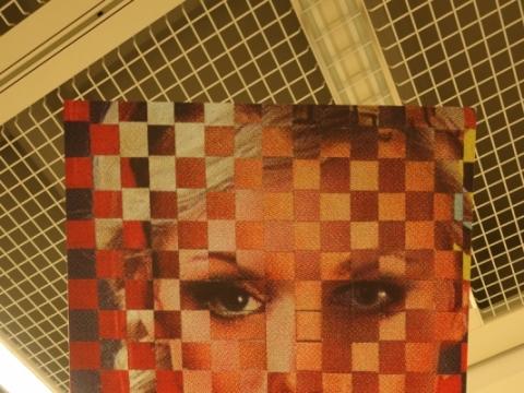 """Gytis Skudžinskas, """"Stilius '03"""", fragmentas. 2003 m. A. Narušytės nuotr."""