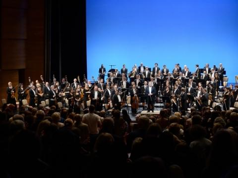 Izraelio filharmonijos orkestras. M. Aleksos nuotr.