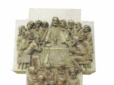 Erikas Daugulis. Vienas iš penkių Šviesos slėpinių koplytstulpių