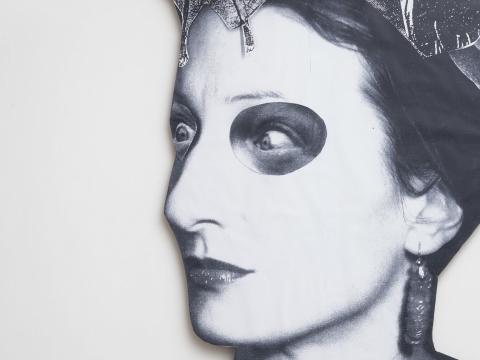 "Marvin Gayle Chetwynd, ""Crazy Bat Lady"" fragmentas. 2018 m. ""Tate Britain"" nuotr."